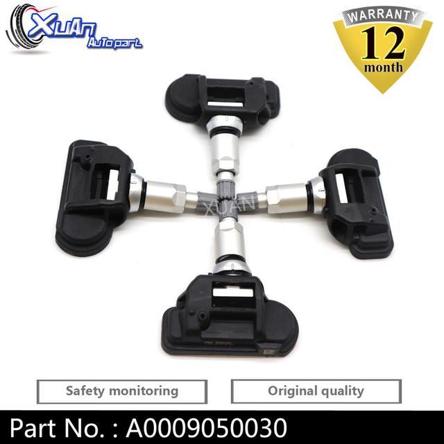 XUAN Tire Pressure Monitor Sensor TPMS A0009050030 For Mercedes Benz Smart C250 C300 C350 C63 CL550 CL63 CL65 CL600 AMG 433MHZ
