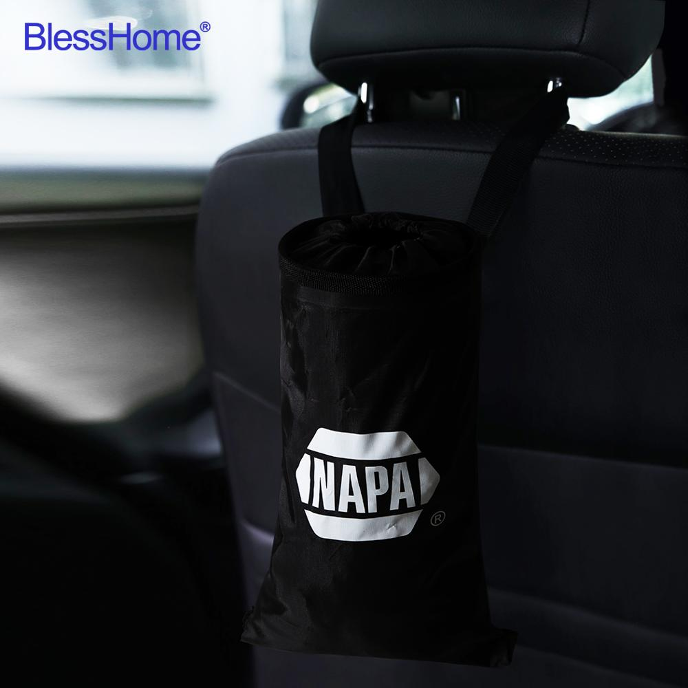 BlessHome® 100pcs/lot Custom Car Trash Bag Holder  For Car Garbage Bag with Printed Logo|Car Trash|   - AliExpress