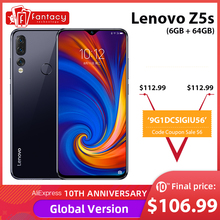 Global Version Lenovo Z5s 6GB 64GB Snapdragon 710 AIE Octa Core Mobile