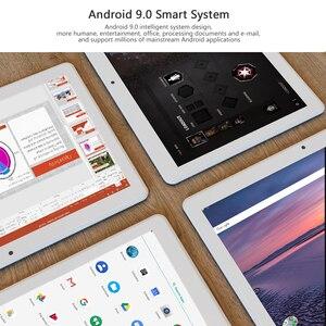 Image 5 - 2020 najnowszy Android 9.0 ciasto 10 cal Tablet Pad telefon z tyłu pikseli 5.0MP 32GB ROM Dual SIM 2.5D szkło hartowane Планшетный ПК