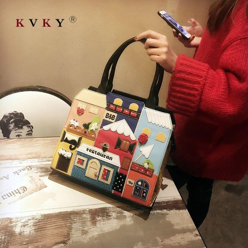 Женская сумка тоут из мягкой кожи высокого качества, Большая вместительная женская сумка на плечо, роскошные сумки мессенджеры для женщин, 2019|Сумки с ручками|   | АлиЭкспресс