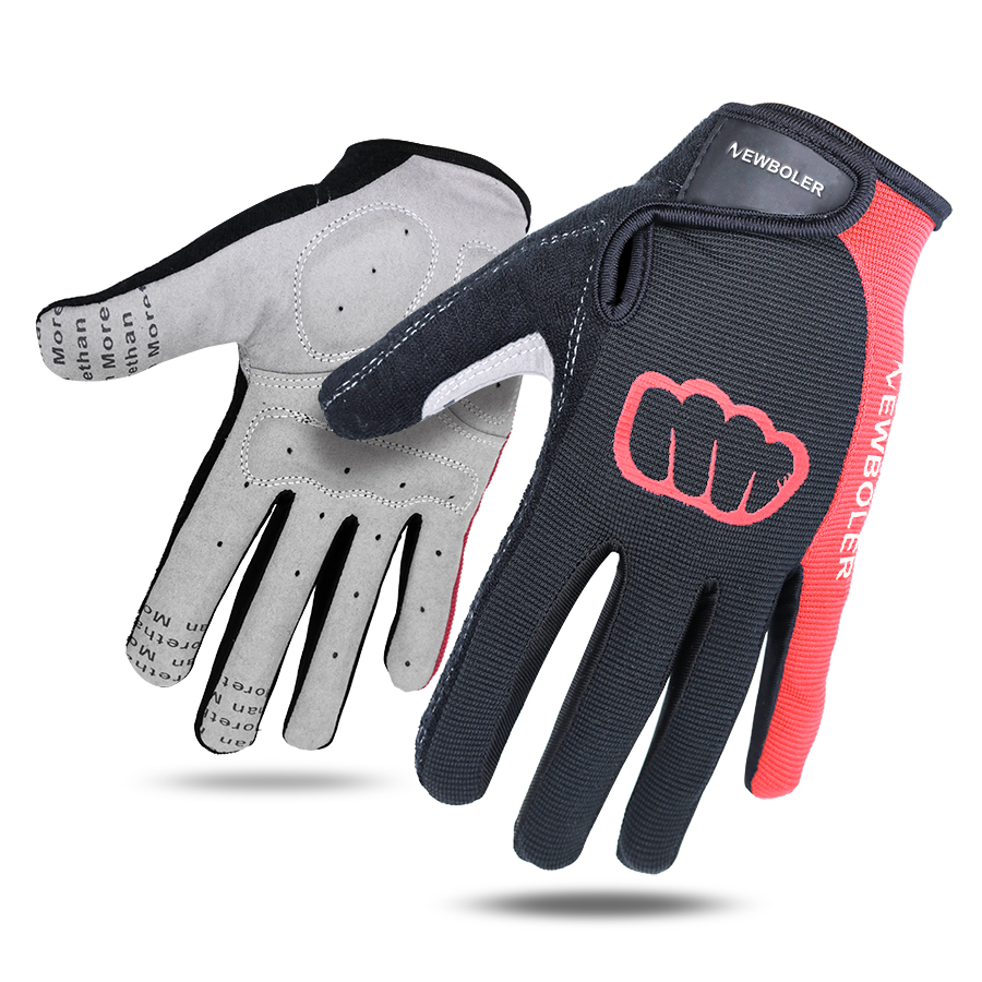 NEWBOLER Thermal Ski Gloves Men Women Winter Skiing Windproof Snowboard Gloves Touch Screen Snow Motorcycle Warm Mittens