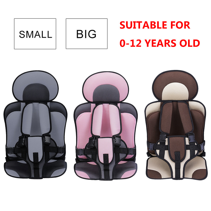 Portable Baby Seat 0-12 Years Old Adjustable Child Seat Travel Baby Seat Covers Baby Chair Stroller Seat Pad Safety Kids Cushion