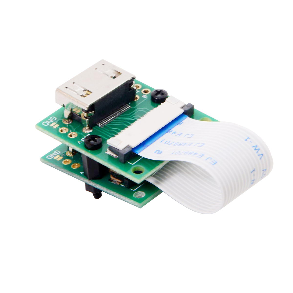 CY Raspberry PI Camera Module To HDMI Type A Male HDTV FPC Flat Cable 5cm Fit For PES001