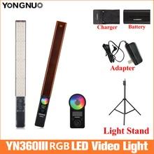 YONGNUO YN360 IIIมือถือIce Stick LED Video Light 3200Kถึง 5500K Led Video Lightควบคุมโทรศัพท์app