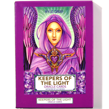 Keepers of the Light Oracle Cards Cards Tarot Cards Guidance Divination Fate Board Game Card Game Deck E-Guidebook Card Games карты оракул u s games systems oracle cards dream