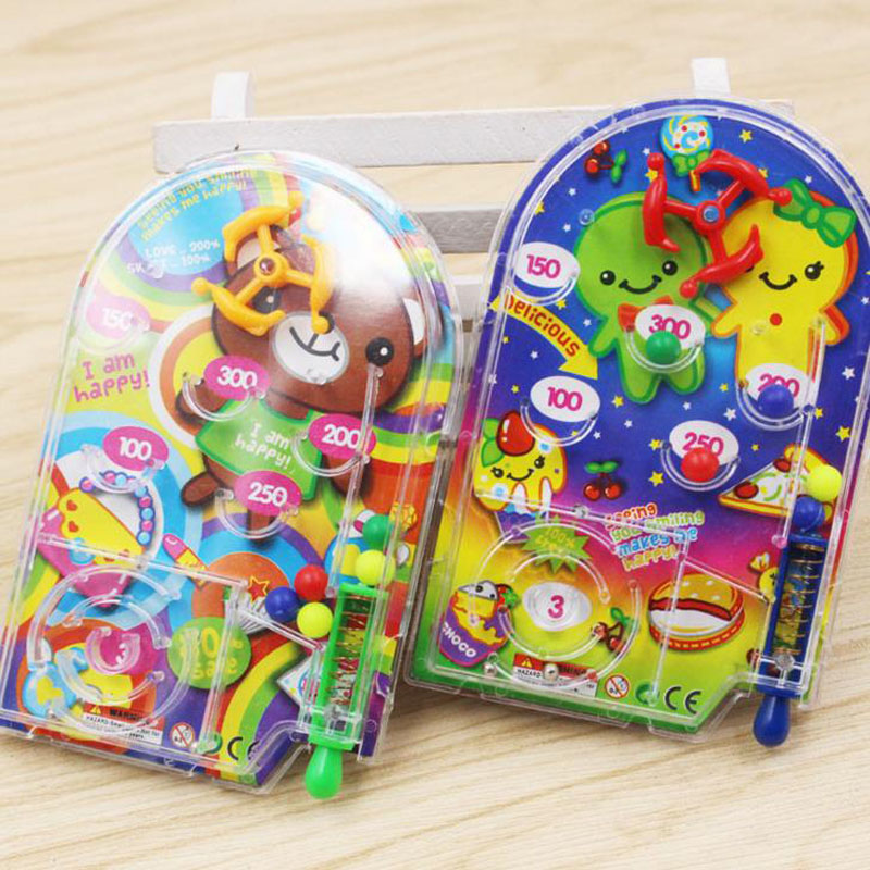 5 Pcs Kawaii Cartoon Pin Ball Game Toy Kids Happy Birthday Party Favor Souvenirs Baby Shower Return Gift Present Party Favors