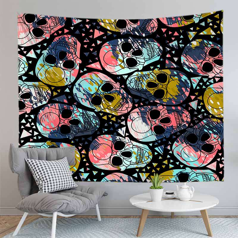 Ultra Soft Multi-functional 3D Print Wall Hangings Rug f// Bedroom Wall Decor