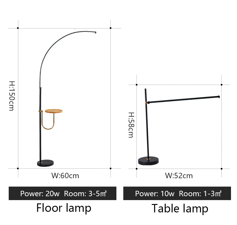 Cheap Luminárias de pé