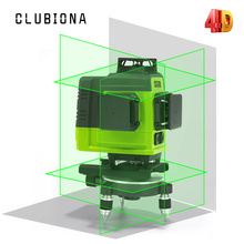 Clubiona 4D German Laser Core Floor and Ceiling Green Lines Remote control Laser Level