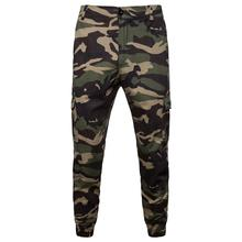 Camouflage Male Pants Military Cargo for Men Trousers Slim fit Army Green