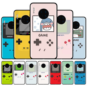 Display Retro Gameboy Silicone Case For Huawei Mate 40 RS 30E Pro 5G 20 Lite Y9a Y7a Y8p Y8s Y6p Y6 Y7 Y9 2019 Back Cover Coque image
