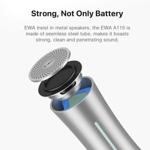 Image 4 - EWA A115 True Wireless Stereo TWS 105 hours Play time Bluetooth Speaker Built in 6000mAh Rechargeable Battery Great Sound & Bass