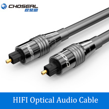 CHOSEAL Optical Digital Audio Cable Home Theater Fiber Optic Toslink M