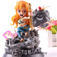 Anime One Piece Figure Nami GK Statue One Piece Nami Statue Action Figure PVC Collectible Model Toy 18cm