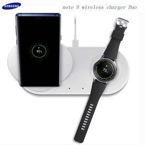 Image 4 - 25W 2 en 1 rapide QI chargeur sans fil chargeur de téléphone Type C support de charge rapide pour Samsung Galaxy Note 9 S10 Plus montre S2 3
