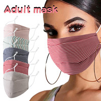Headband 1PC Adult mask masques scarf Reusable Washable Printing Adjustable Breathable Windproof Protective Mask маска бандана#