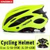 Kingbike capacete de bicicleta ultra leve, capacete de ciclismo mtb cpsc com luz traseira e luz de carbono, cor para ciclismo 9