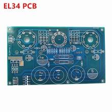 Pwb el34 el34b 10w single ended classe a tubo amplificador ecc83 12ax7 pcb