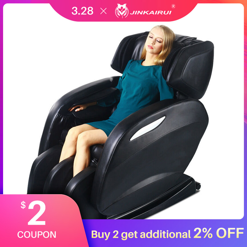 Luxury Massage Chair Home Automatic Kneading Zero Gravity Multifunctional Neck Waist Back Elderly Sofa Electric Massager