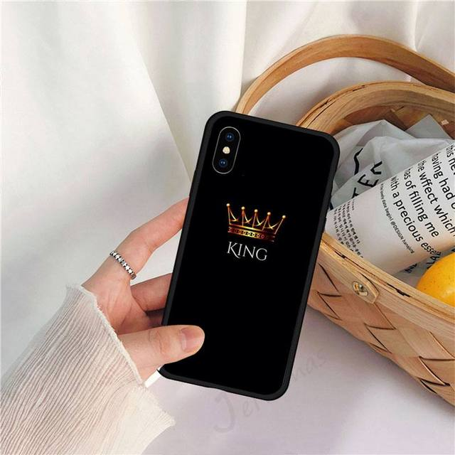 Coque king Couronne Or