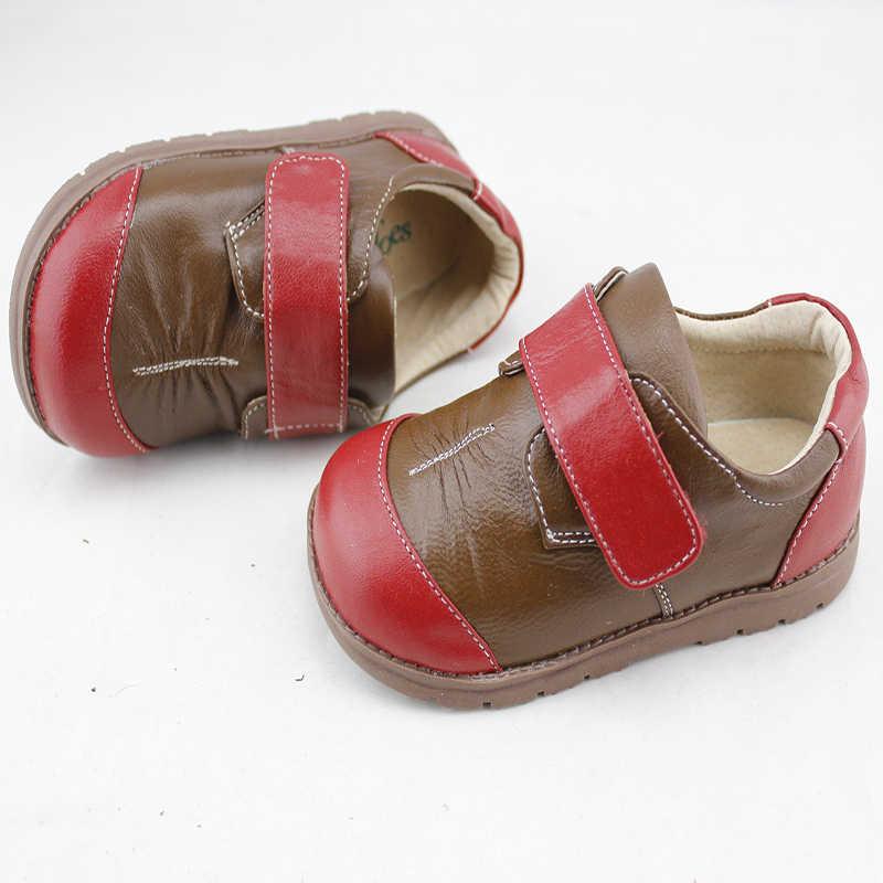 Zapatillas de deporte infantiles de piel de oveja informales marca TipsieToes para niños y niñas nuevas 2020 primavera otoño 63104