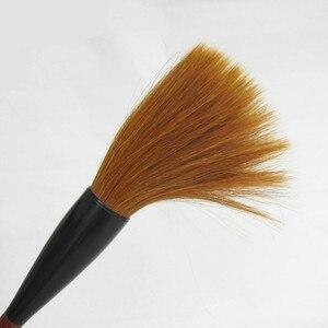 Image 3 - Brosse en forme de trémie fouine cheveux écriture brosses ours brosse à cheveux Script régulier Festival Couplets peinture calligraphie stylo brosse