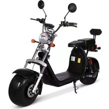 EUR Stock New EEC/COC Citycoco 60V 20AH Removable Lithium Battery 1500W Electric Scooter Bike Road Tyres for sale For Europe