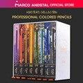 Коллекция мастеров Andstal Marco 80 цветов s  профессиональный масляный цветной карандаш для художника  Набор цветных карандашей для рисования  цв...