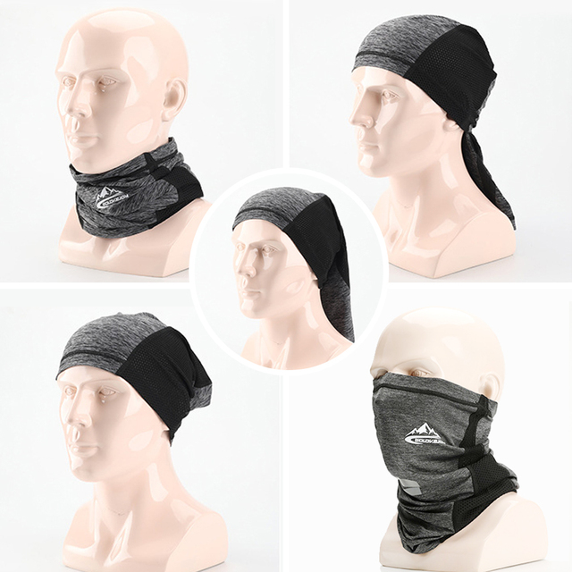 Silk Half Face Mask 4