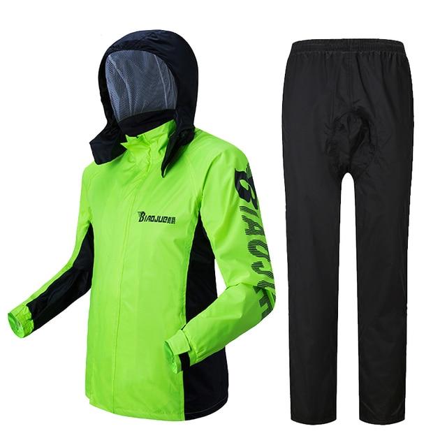 Motorcycle Raincoat Male Riding Split Waterproof Storm Rain Coat Pants Set  Jacket Rainwear Capa De Chuva Motoqueiro Gift Ideas 4
