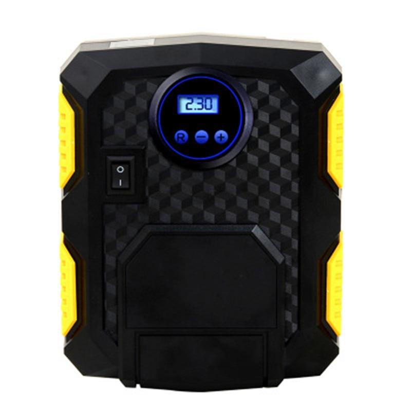 Автомобильный воздушный насос, автомобильный светильник, воздушный насос для шин, 12 В, портативный аварийный цифровой указатель, цифровой насос для шин, вольт, автомобильный компрессор, хит продаж