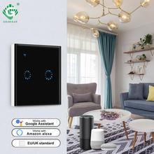 Wifi светильник smart touch switch 1 банда 2 банды 3 способ