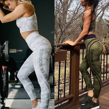 Sexy Yoga Pants For Women Gym Running Leggings Sport Print Camouflage Seamless Tights