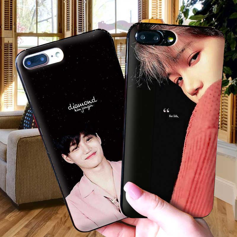 EXO KAI iphone × XR XS 最大ソフトシリコーン Apple の Iphone 5 8 7 6 S 6 S プラス電話ケース
