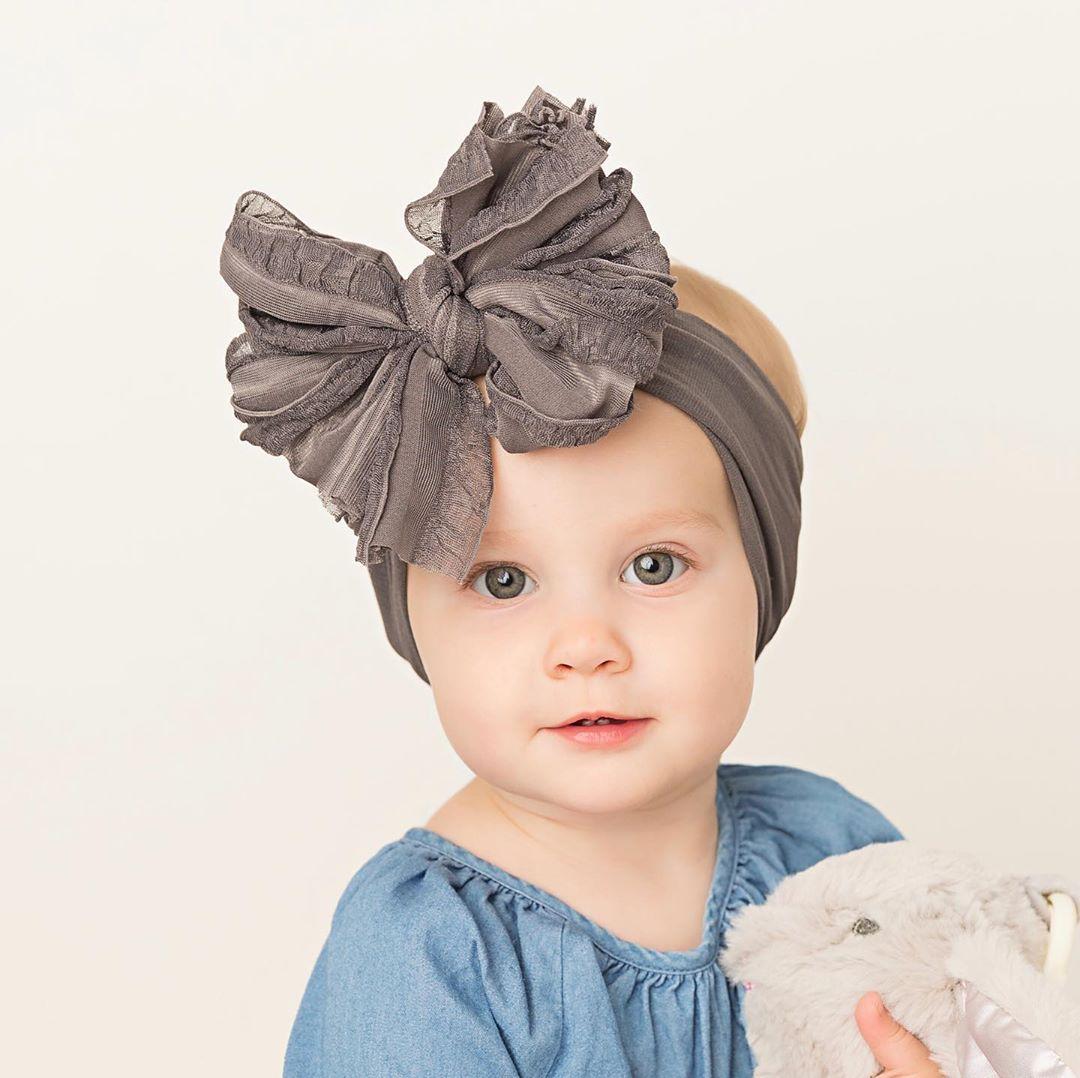 Baby Headbands Baby Toddler Turban Solid Headband Hair Band Baby Girl Bows Hair Accessories Headwear Baby Girl Headband