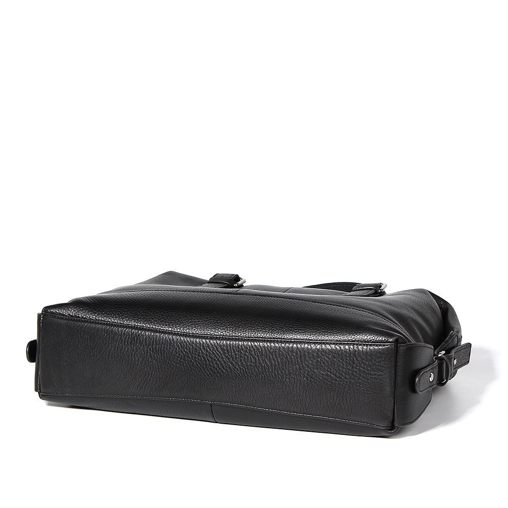 Мужская сумка из натуральной кожи, мужской деловой портфель, кожаная мужская сумка, новая модная мужская повседневная сумка тоут - 3