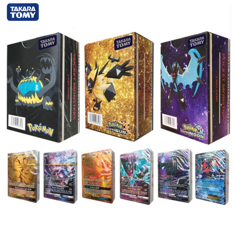 font-b-pokemon-b-font-toys-20-200-300pcs-gx-ex-mega-cover-flash-card-sun-moon-lost-thunder-cards-collectible-gift-children-toy