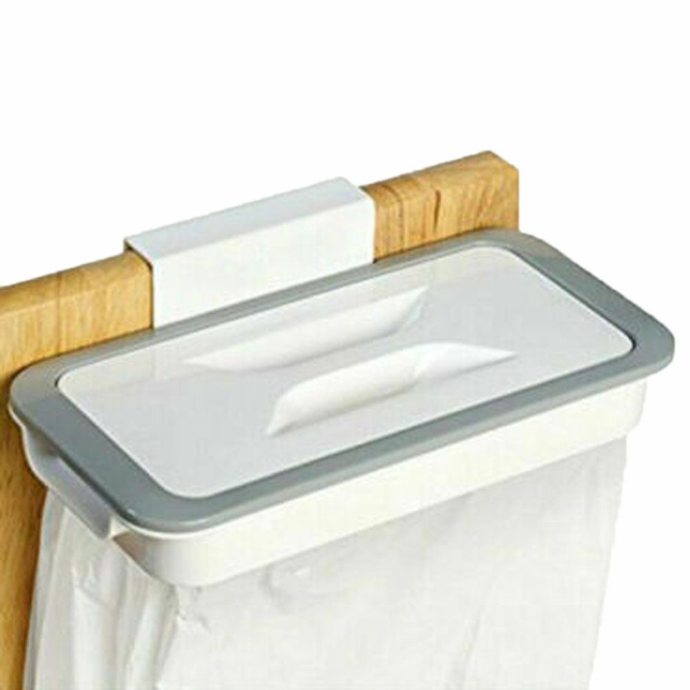 Kitchen Garbage Bag Hanging Storage Bags Portable Trash Organzier Holder