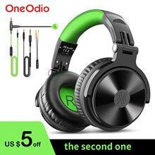 Oneodio oyun kulaklıkları kulak kablolu Stereo kulaklık için mikrofon ile PS4 Xbox bir telefon PC Gamer stüdyo DJ kulaklık