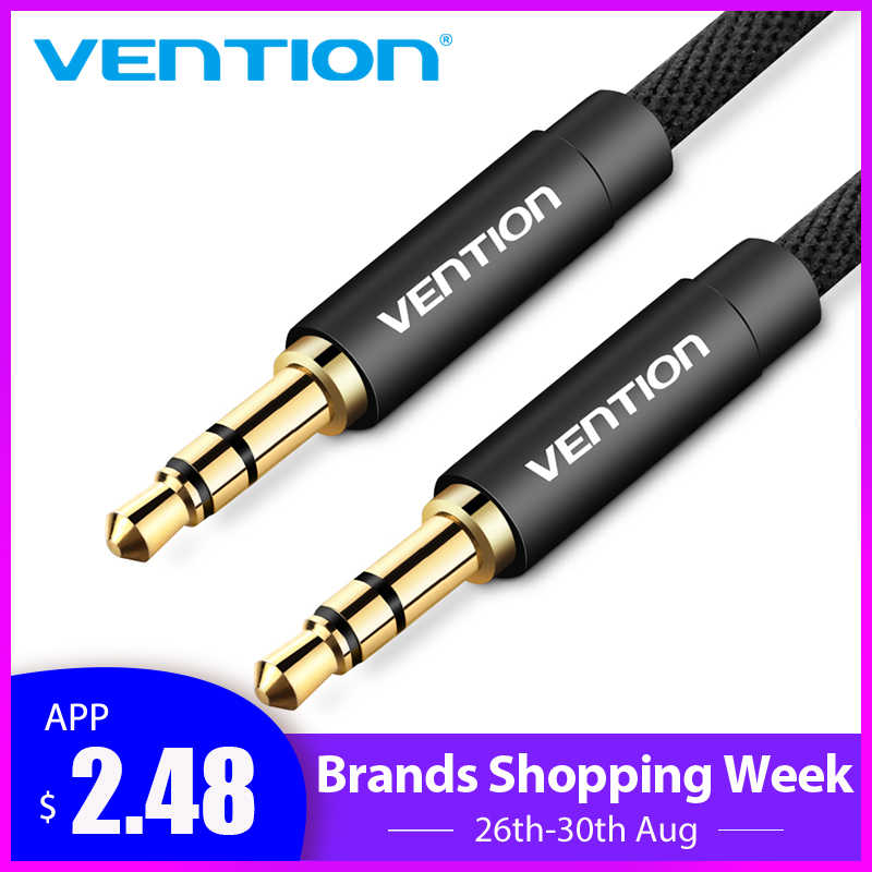 Vention 3M Audios Cables RCA male to male Aux Video Cable