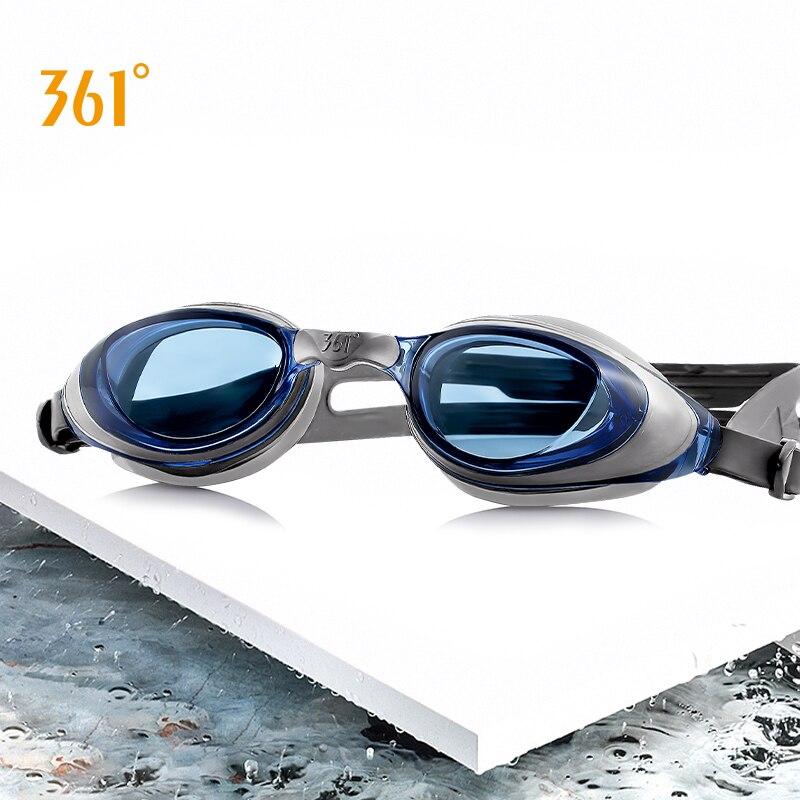 Óculos de Natação Óculos com Case Piscina à Prova Adulto Crianças Lente Clara Anti Nevoeiro Natação Dwaterproof Água Nadar Eyewear Silicone Ajustável 361