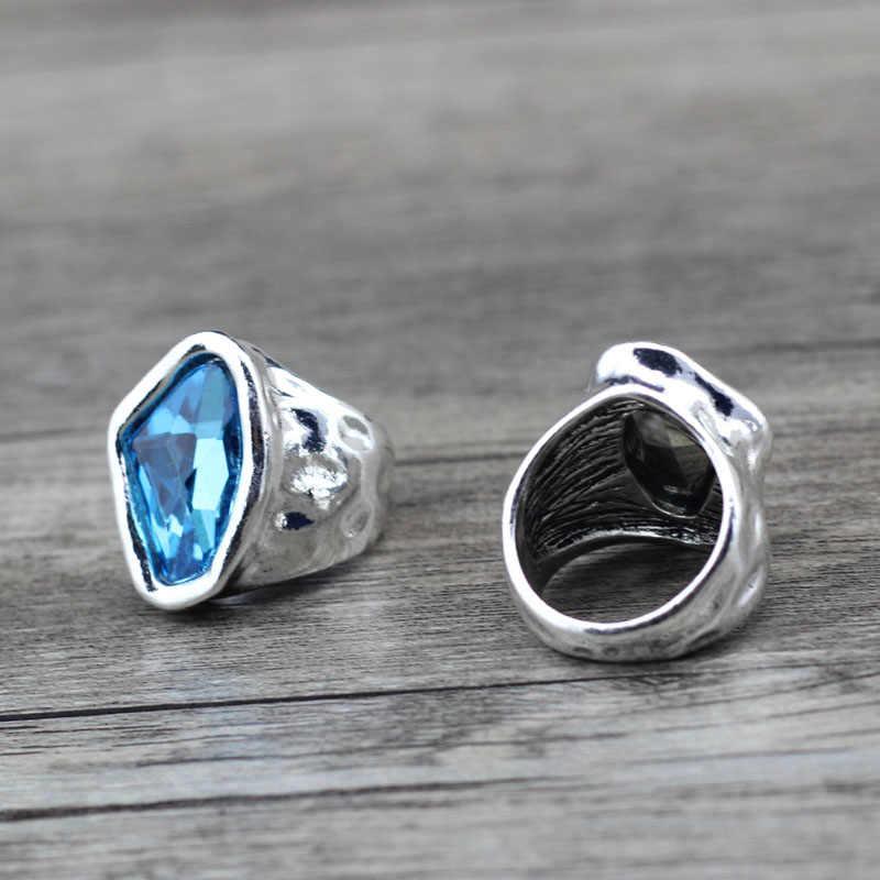 Anslow Original Design แฟชั่นเครื่องประดับ VINTAGE คริสตัลคู่รักแหวนของขวัญวันวาเลนไทน์ LOW0042AR