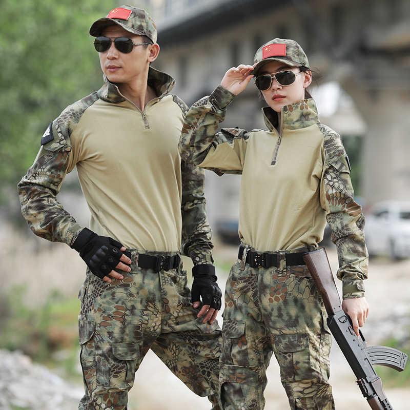 ทหารชุดกบยุทธวิธีเสื้อผ้า COMBAT Proven เสื้อ Airsoft ปลอมตัวกองทัพทหารการล่าสัตว์เสื้อผ้า