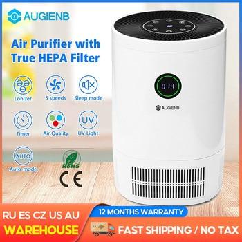 Очиститель воздуха AUGIENB для дома, Фильтры HEPA,...