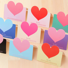 Postcard Greeting-Cards Heart Invitations Thank-You Birthday Small Kids for Envelope