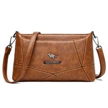 Wysokiej jakości luksusowe torebki skórzane torebki Crossbody damskie torebki na ramię projektant torebki damskie torebki damskie torebki i portmonetki tanie tanio badiman Na co dzień torebka Torby na ramię Na ramię i torebki Prawdziwej skóry Kożuch zipper SOFT Solidna torba Moda