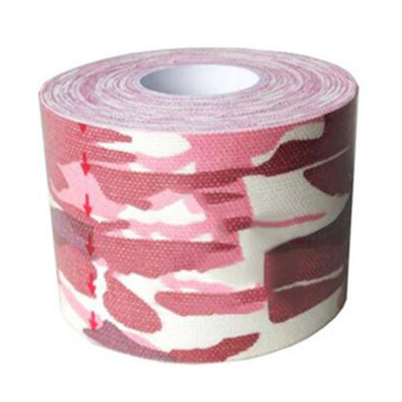 Image 2 - 1Pc Cotton Sports Tape 2.5CMX5M Muscle Sticker Medical Bandage Intramuscular Patch Closure Kinesiology Tape Elastic Patch Tape-in Tape from Home Improvement