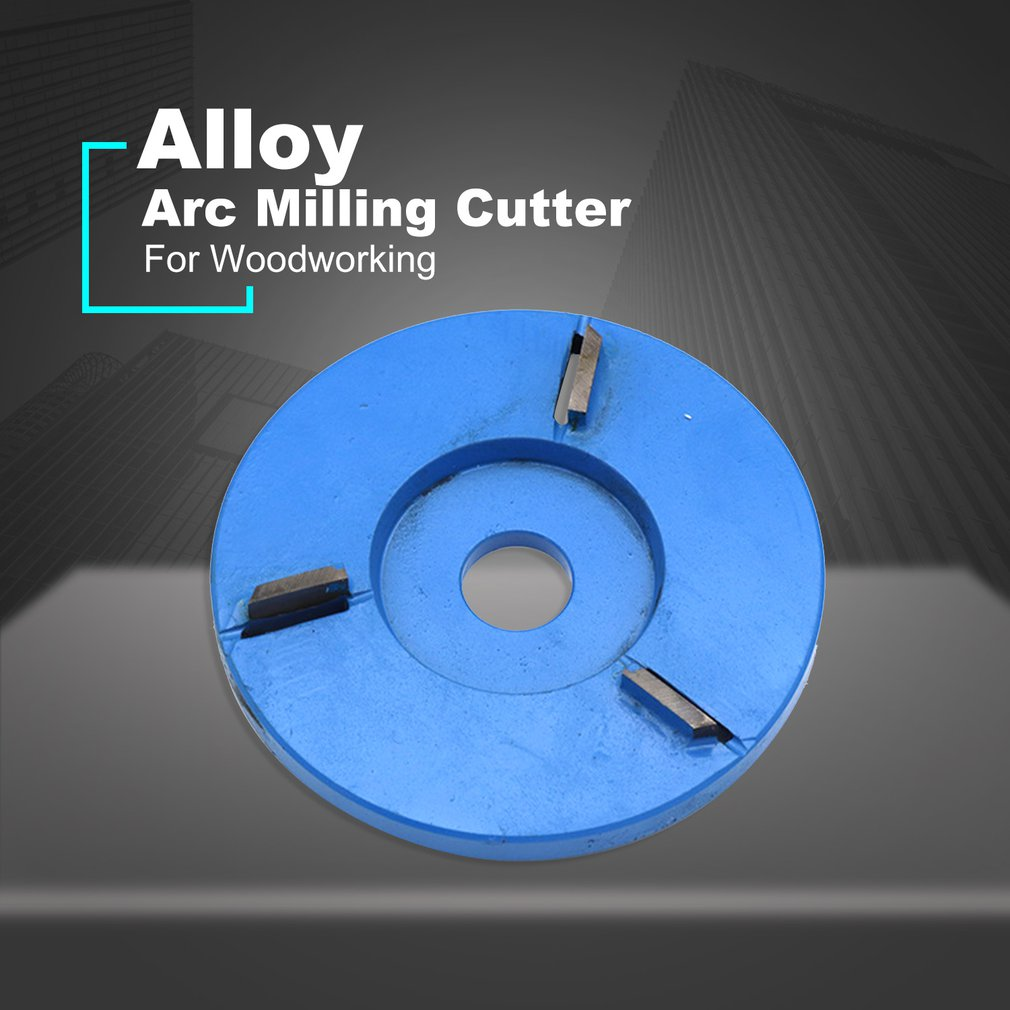 For 16mm Aperture Angle Grinder Wood Carving Disc Tool Flat 3T/4T/5T/6T Woodworking Turbo Tea Tray Digging Milling Cutter