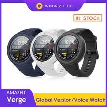 IN STOCK Original Huami AMAZFIT Verge Smart Watch GPS IP68 AMOLED Screen Answer Calls Smartwatch Multi Sports For MI MI8